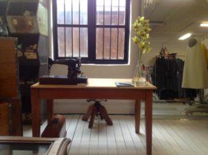 Donna Cameron's studio space in Fitzroy.