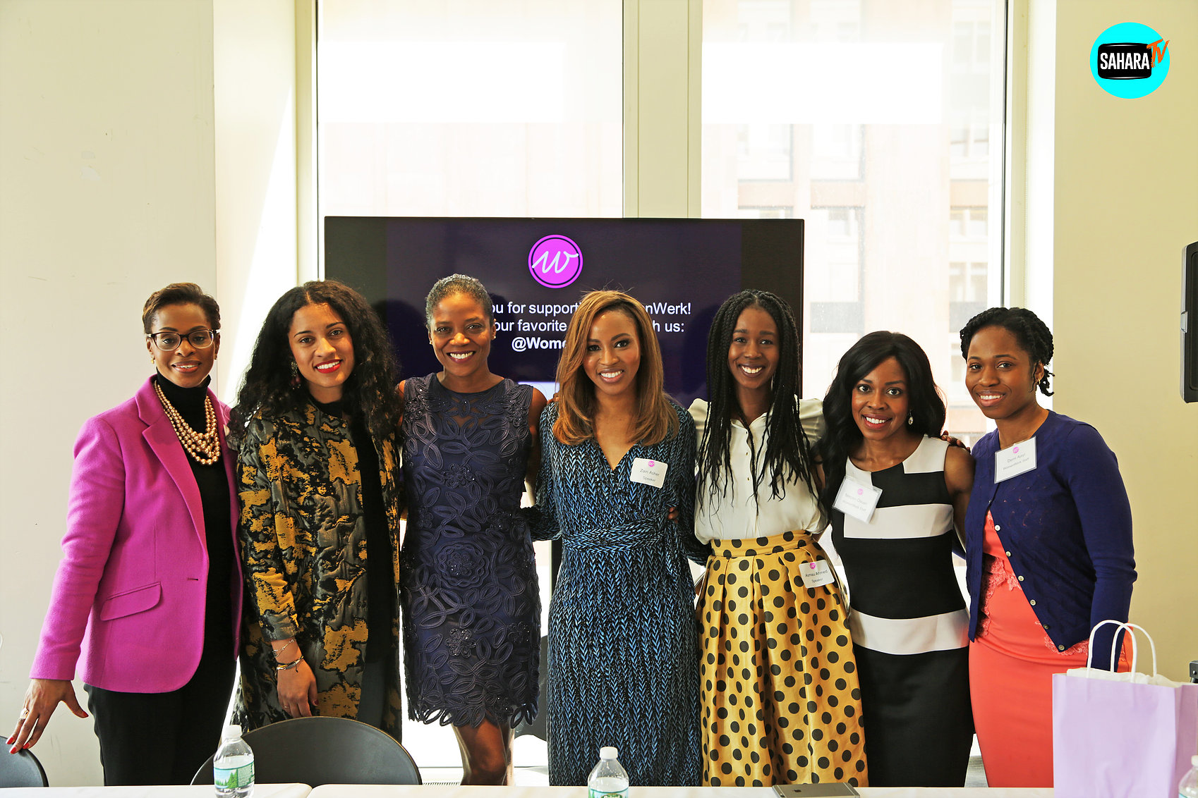 Vanessa De Luca, Editor-In-Chief at Essence Magazine Zain Asher, CNN International Correspondent Karen Boykin-Towns, Vice President of Corporate Affairs at Pfizer Asmau Ahmed, Founder & CEO of Plum Perfect De'Ara Balenger, Former Director of Engagement at Hillary for America Ghylian Bell (Moderator), Founder of Urban Yoga Foundation