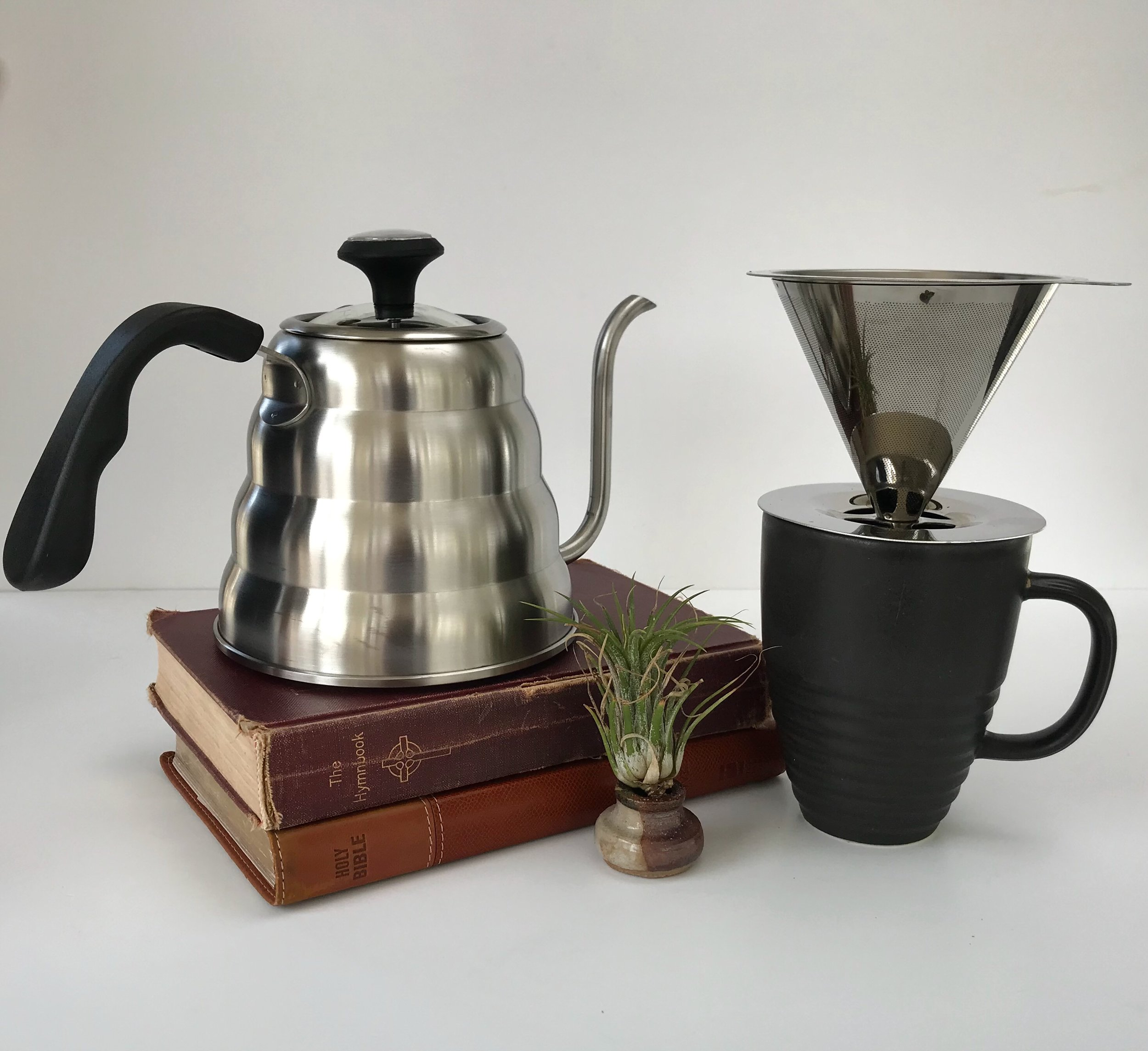 1.2 L Pour Over Coffee Kettle and Pour Over Coffee Dripper available now! Click  HERE  to purchse!