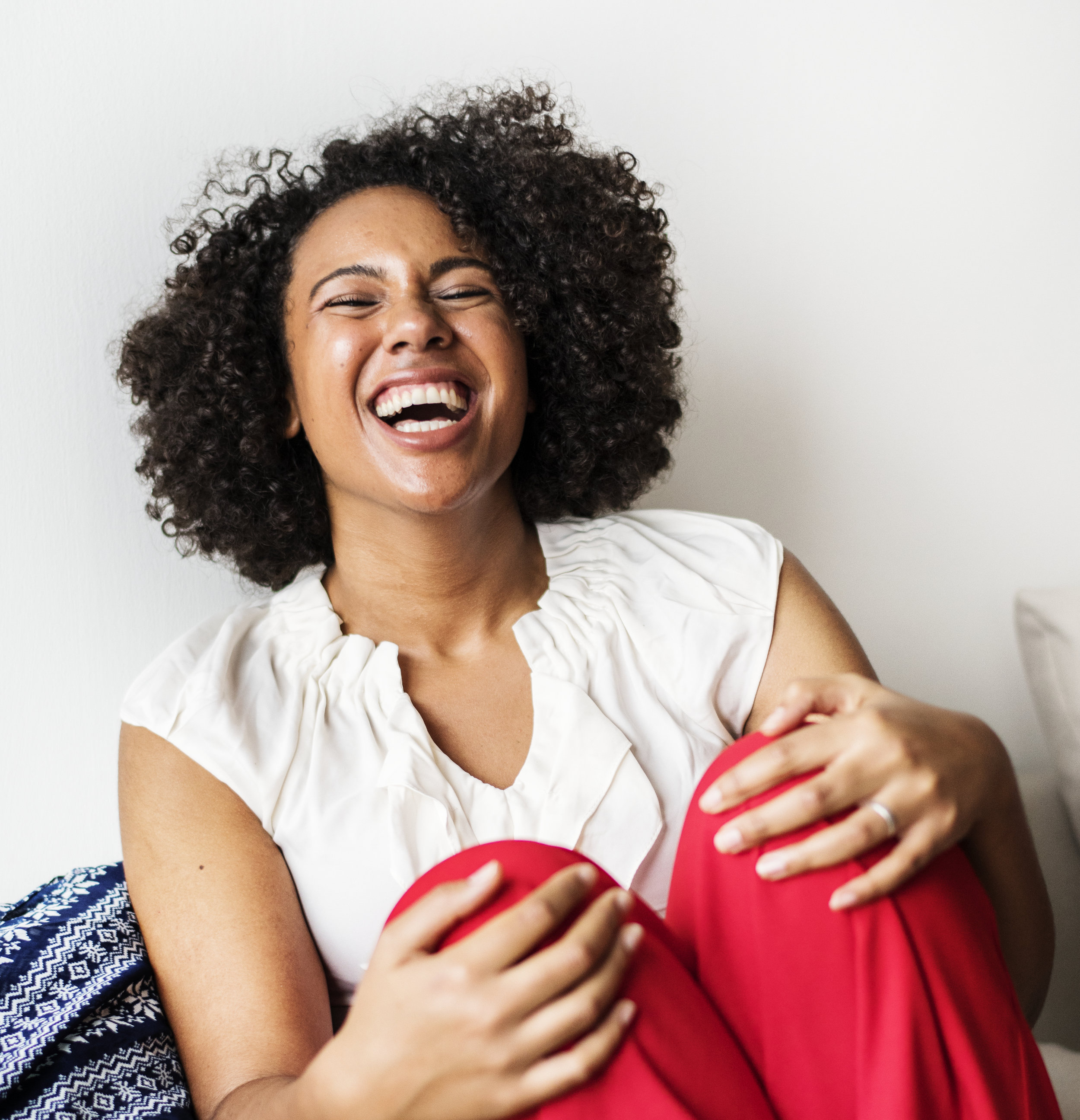laughing woman by rawpixel_unsplash
