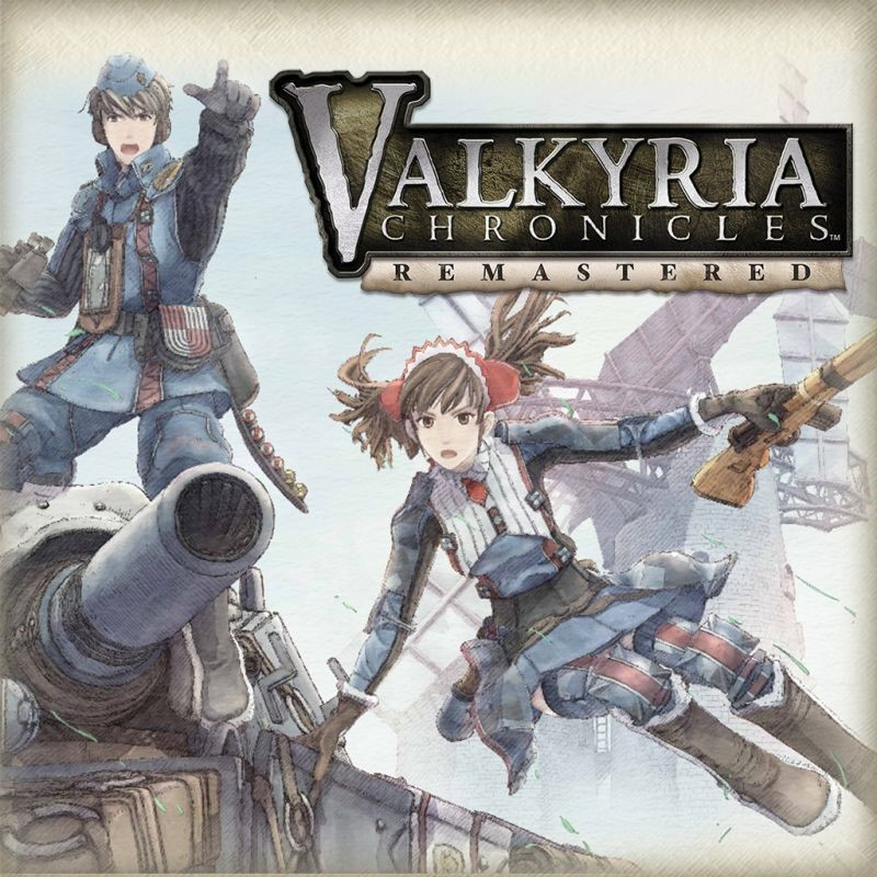 Cover image of the remastered version of Valkyria Chronicles