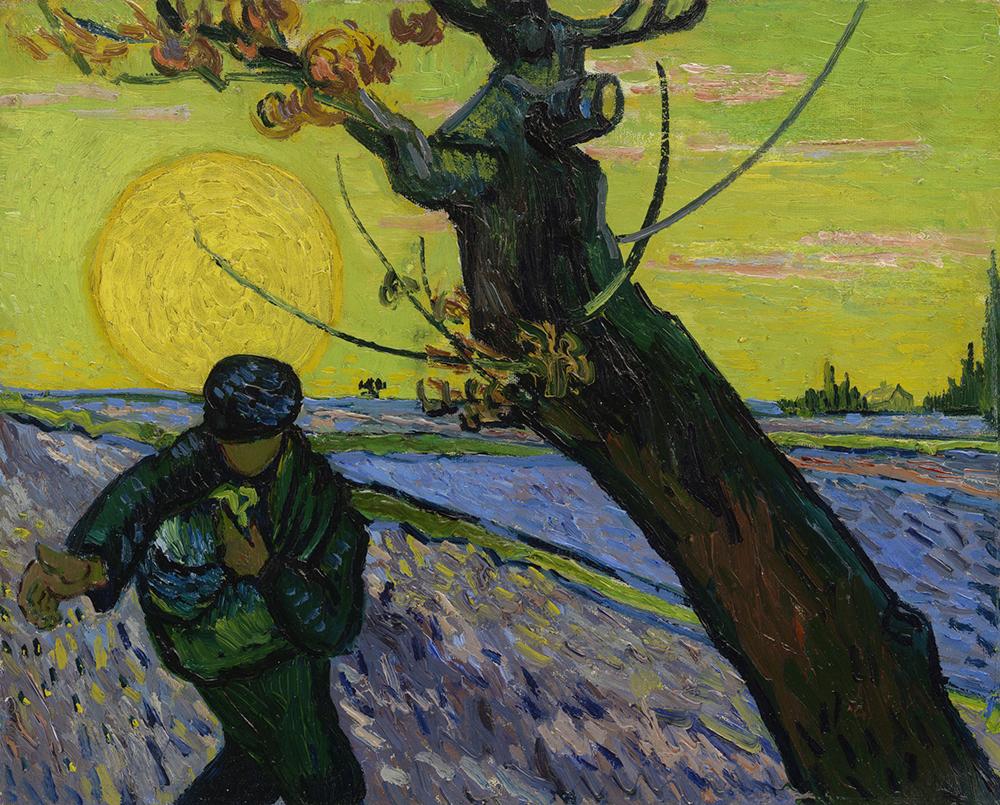 Vincent van Gogh (1853-1890), Le Semeur, Arles, novembre 1888, Huile sur toile, Amsterdam, Van Gogh Museum, © Van Gogh Museum, Amsterdam (Vincent van Gogh Foundation)