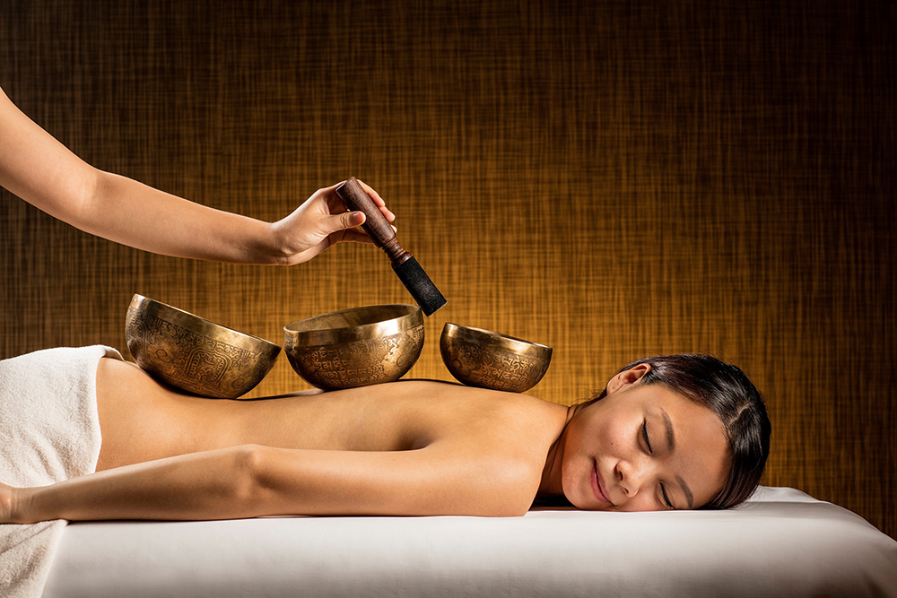 Singing Bowls, Photo courtesy of Tria Spa