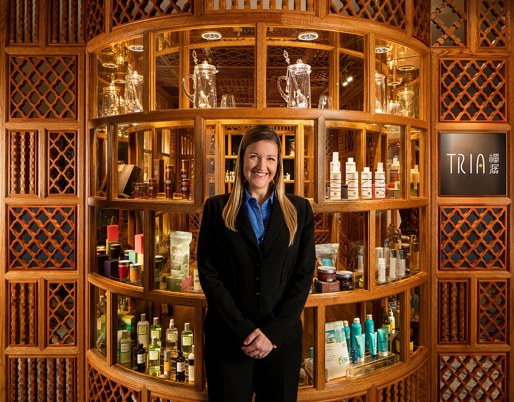 Misty Stewart, Tria Spa Director, Photo courtesy of Tria Spa