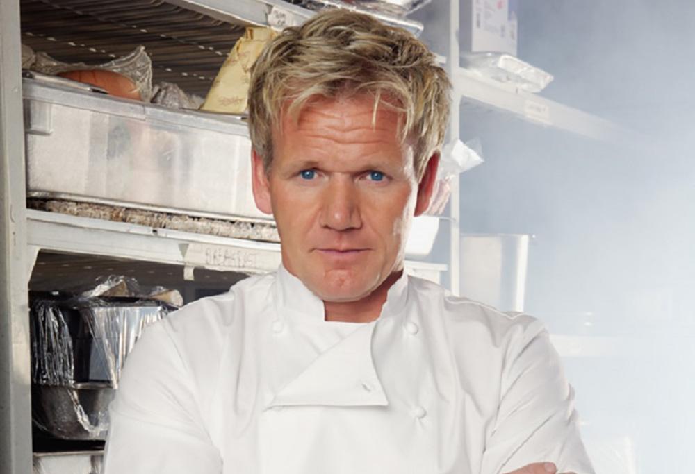 Michelin Starred Chef Ramsay, Photo courtesy of La Veranda