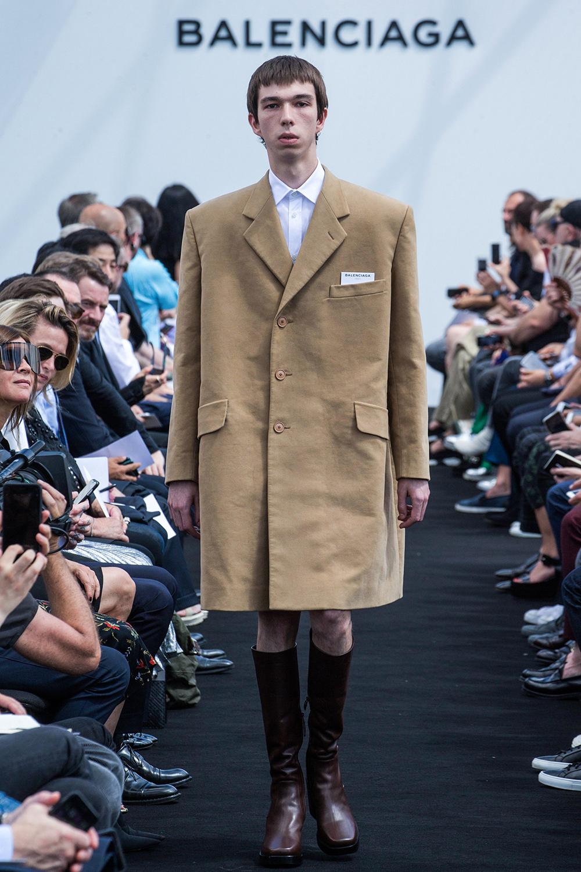 Spring 2017 Menswear, Balenciaga