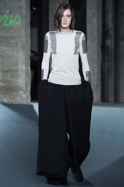 Spring 2017 Menswear, Rick Owens