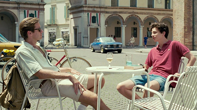 Still of Call Me By Your Name, Directed by Luca Guadagnino