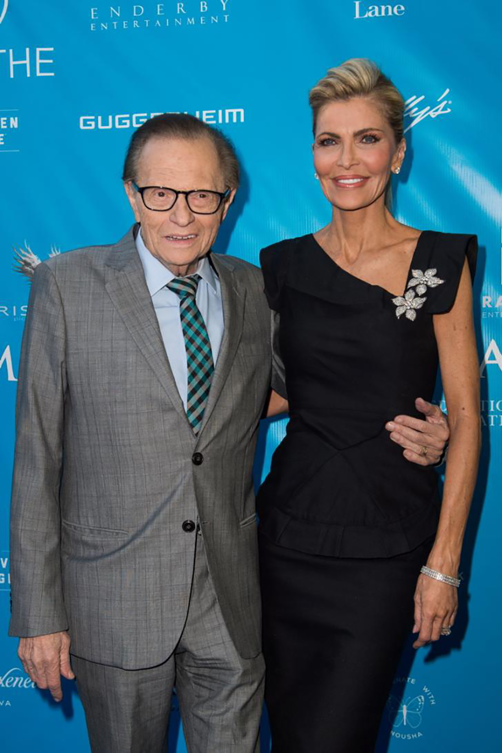 Larry King And Shawn King ©Emma McIntyre, Getty Images