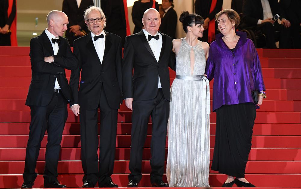 Team of the film - I, Daniel Blake  © Anne-Christine Poujoulat / AFP