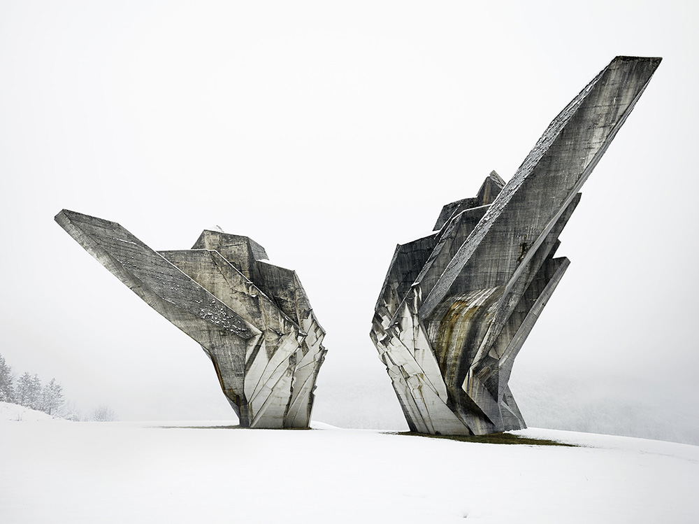 Miodrag Živković and Đorđe Zloković, Monument to the Battle of the Sutjeska, 1965-71, Tjentište, Bosnia and Herzegovina. Photo: Valentin Jeck, 2016, commissioned by the Museum of Modern Art.