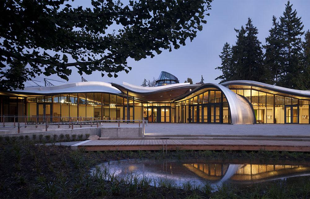 VanDusen Botanical Garden Visitor Centre ©Perkins+Will