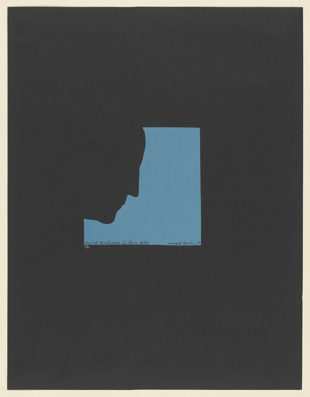 Poster after Self-Portrait in Profile, 1959