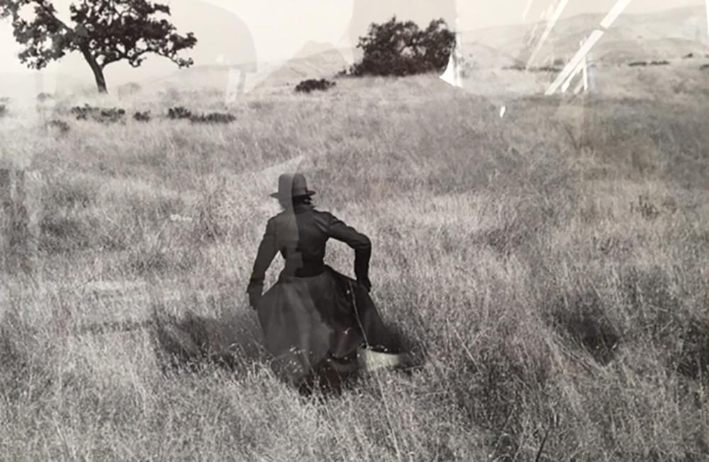 Susan Becker Coat in a Photograph by Annie Leibovitz