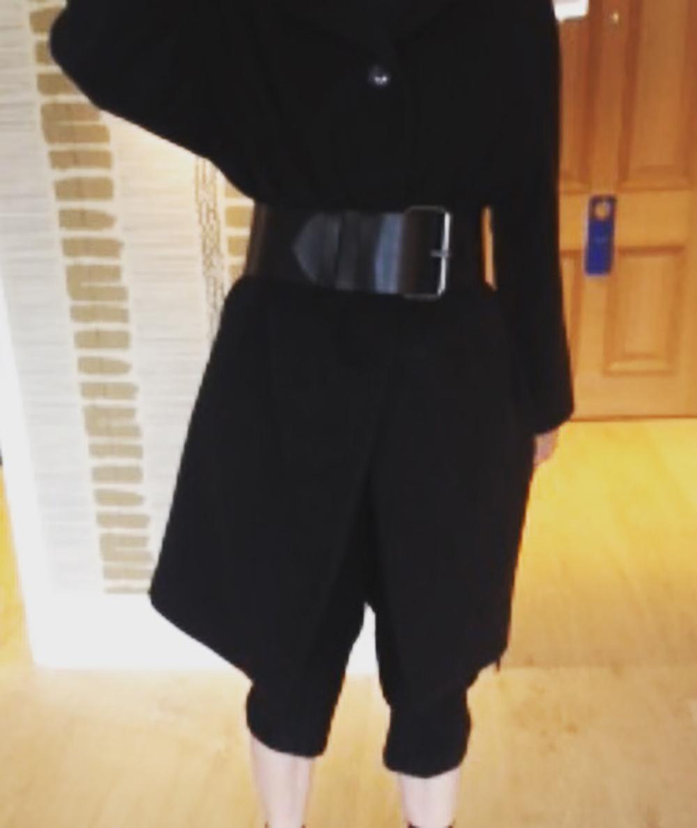 Diane Keaton in a belt by Susan Becker, Photo courtesy of Susan Becker