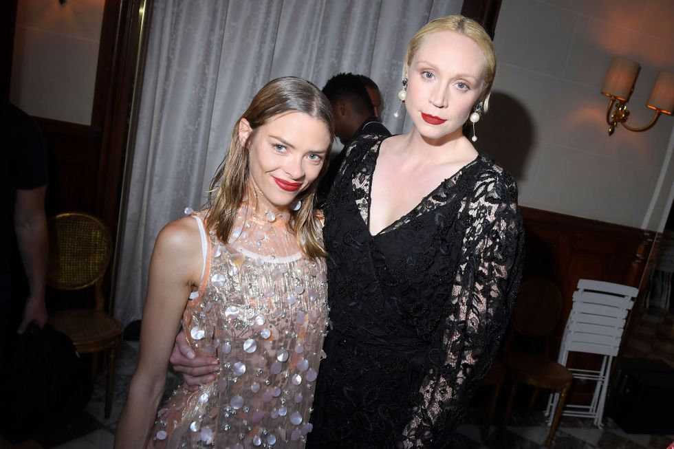 Jaime King and Gwendoline Christie attending the Miu Miu Resort 2019 afterparty.