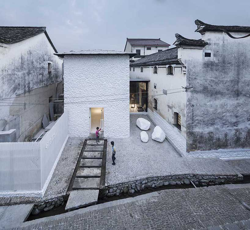 ruralation shenaoli library by zhang lei photo by yao li all images courtesy of pavilion of china at the 16th venice architecture exhibition, la biennale di venezia