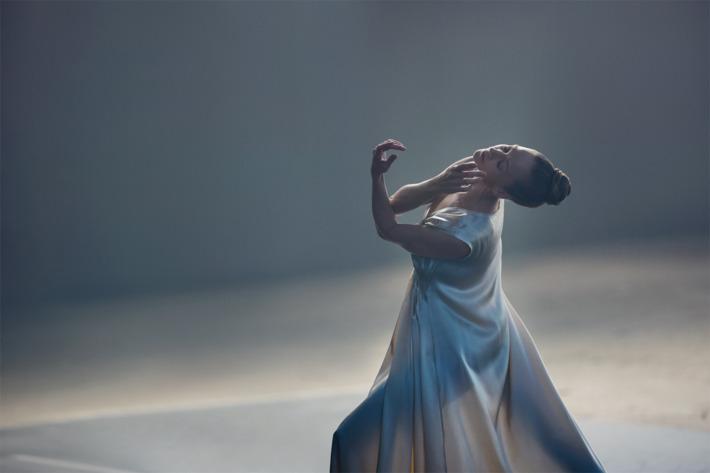 A still from the video featuring New York City Ballet principal dancer Maria Kowroski. Photo: Gabriela Celeste