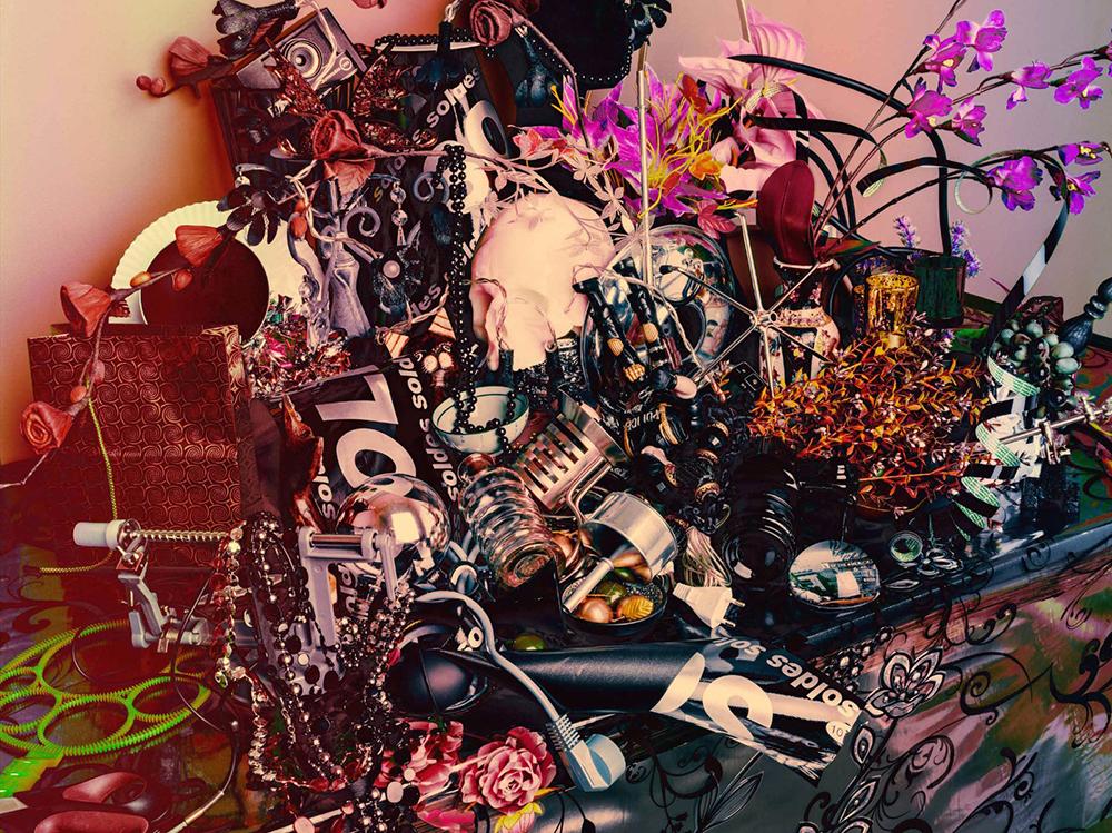 瓦莱丽·蓓琳 Valérie Belin | 静物与珍珠 Still life with pearls | 2014 | 艺术家和娜塔莉·奥巴迪亚画廊-巴黎/布鲁塞尔惠允 Courtesy of the artist and Galerie Nathalie Obadia, Paris/Brussels