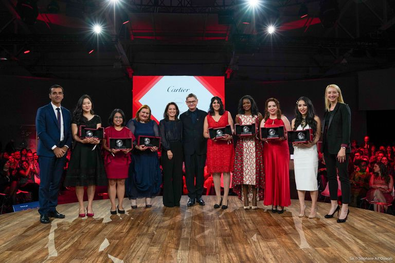The winners of the 2019 Cartier Women's Initiative Awards / COURTESY OF CARTIER