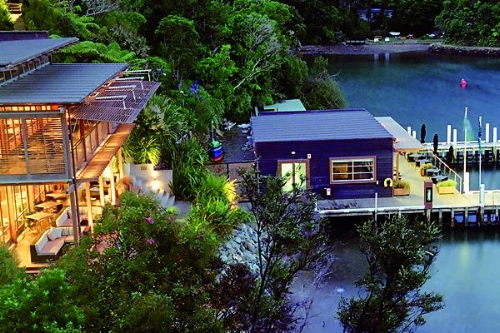 bay of many coves resort - marlborough sounds - south island