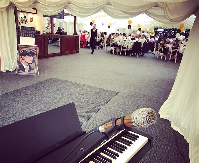 Was rather sweaty, but loved playing for a peaky blinders themed charity event t'other day 🥃 • • • • • • #livemusic #jazz #jazzpiano #piano #yamaha #telefunken #peakyblinders #peaky #blinders #peakyblindersmusic #1920sfashion #1920s #1920sparty #vintage #derby #derbyshire #derbyshirecricket #summer #waytoohot #tommyshelby #cillianmurphy