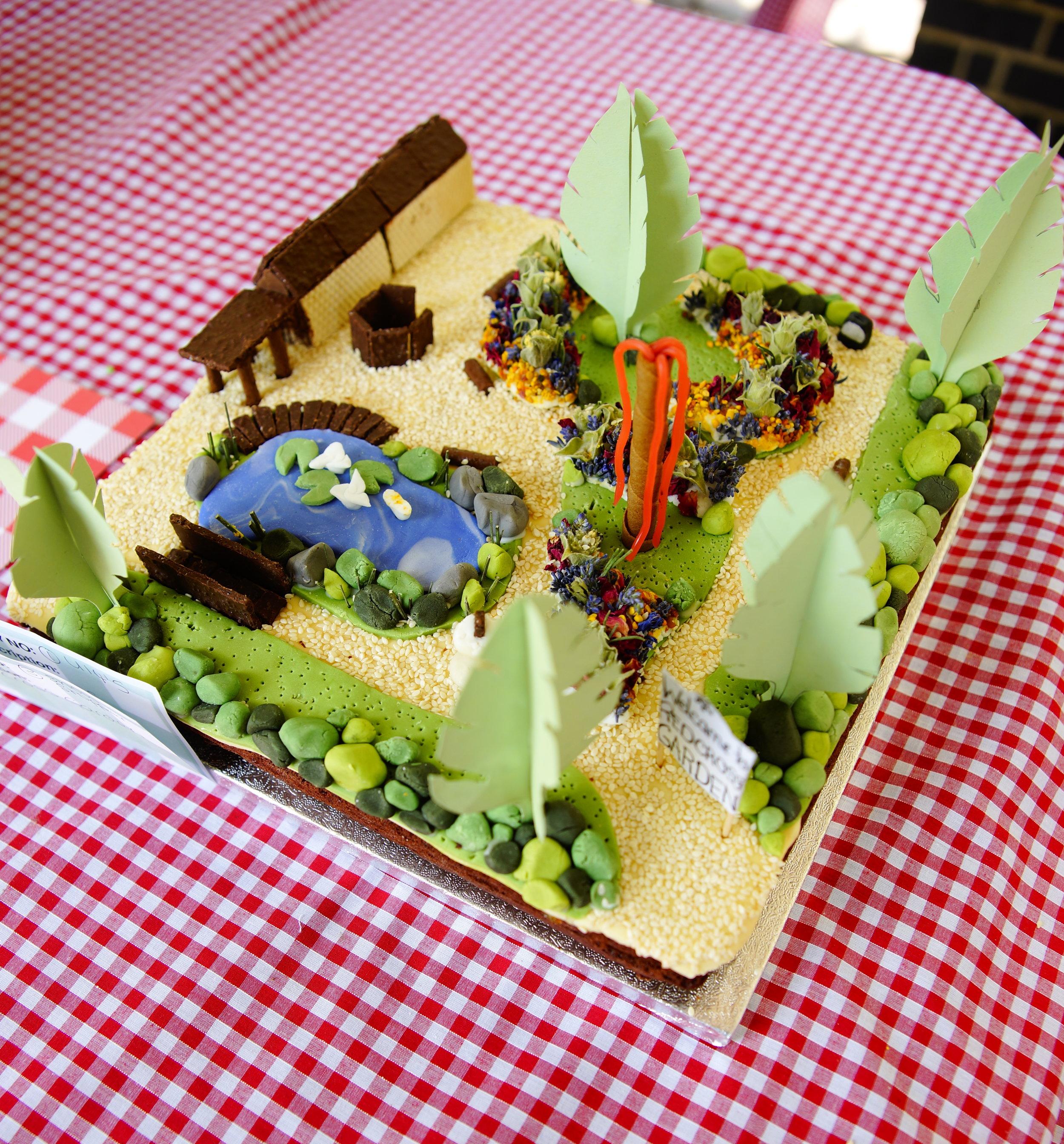 Bake off model of redcross Gardens.JPG