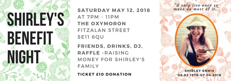 Shirley benefit flyer