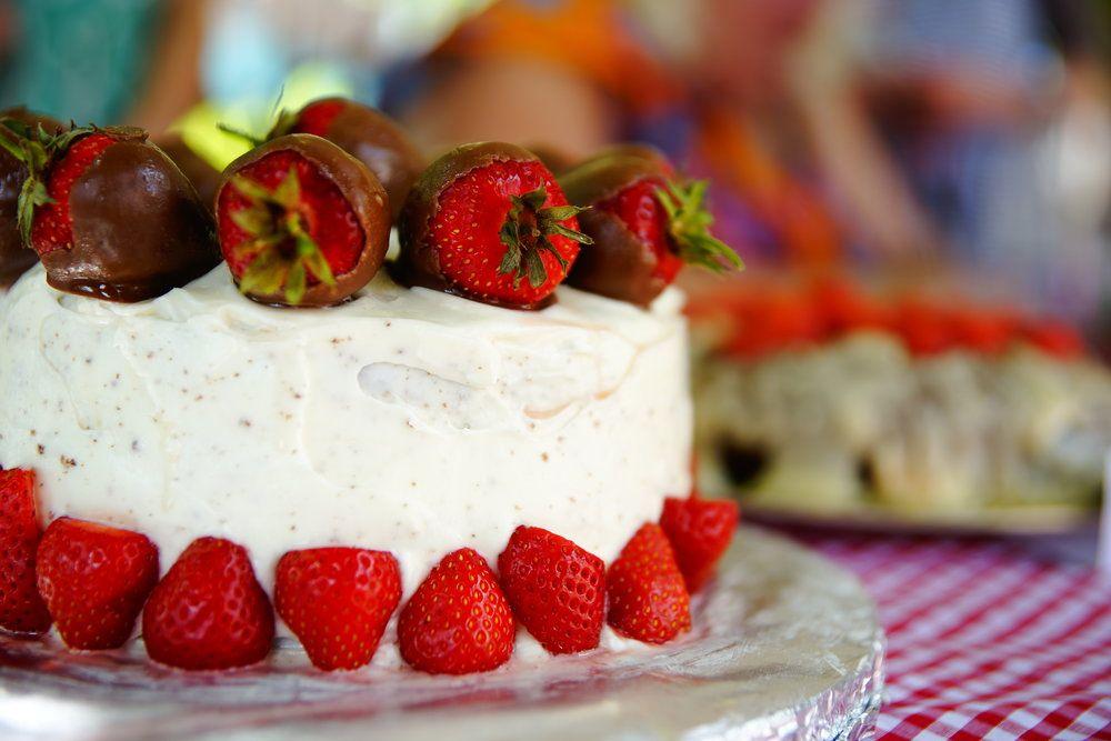 Bake Off cake Great Get Together