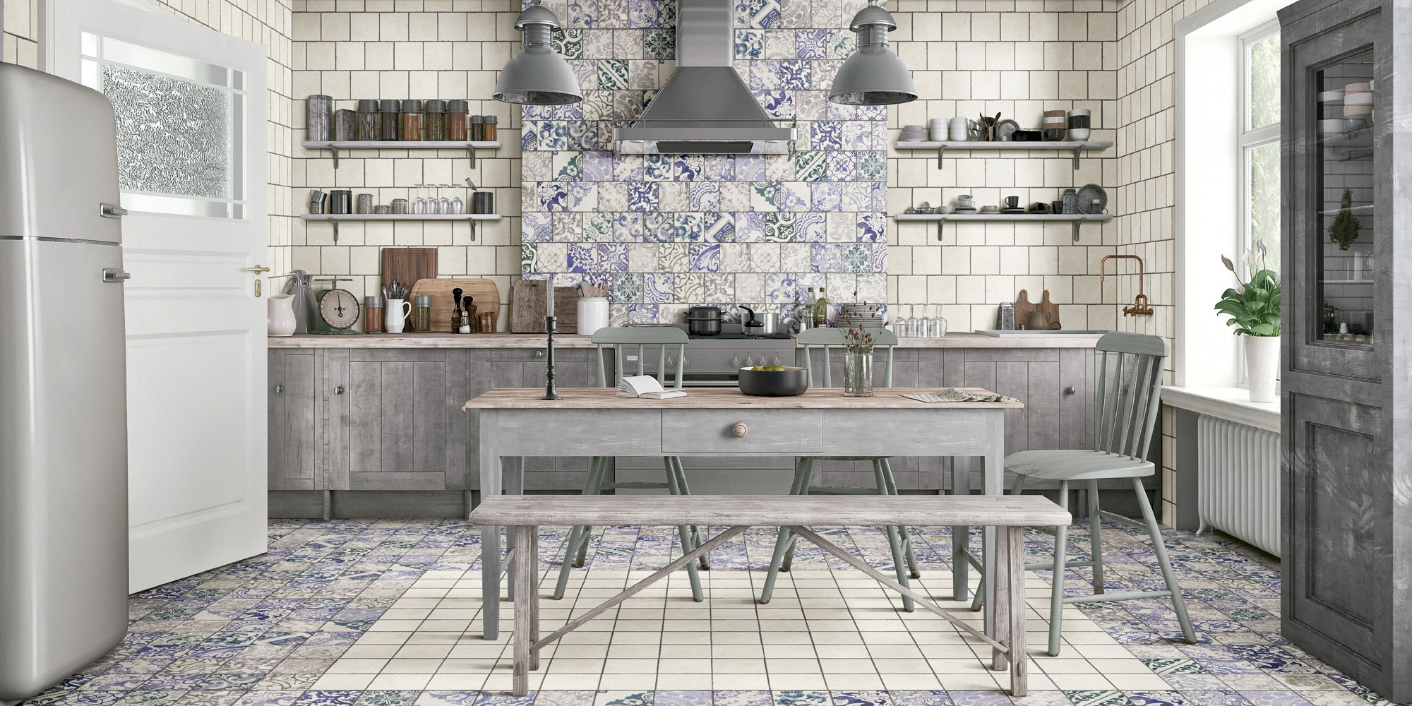 orcelain Mediterranean Style Tile