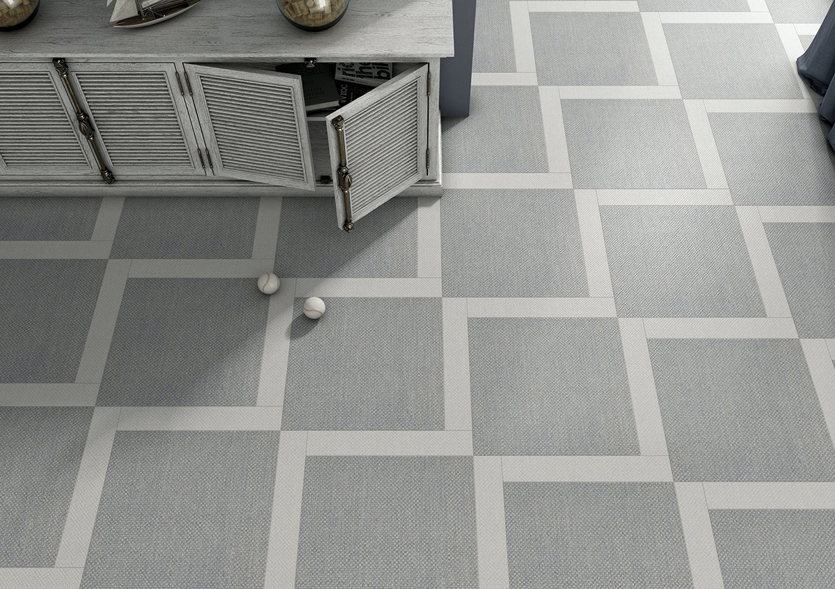Carpet Effect Tiles - Cloudy