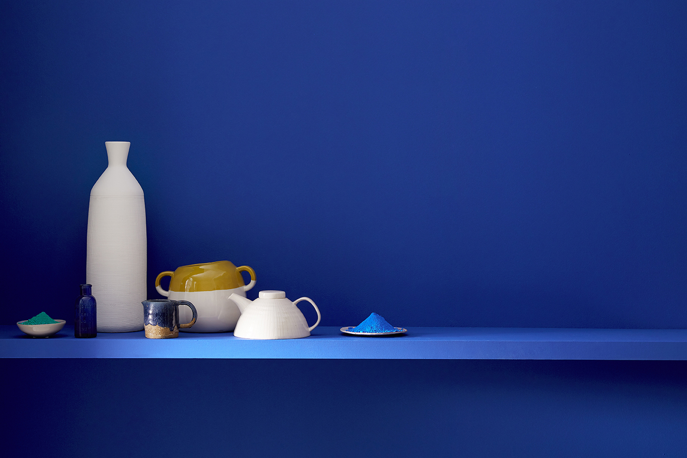 Ultra Blue Paint from The Little Greene Paint Company