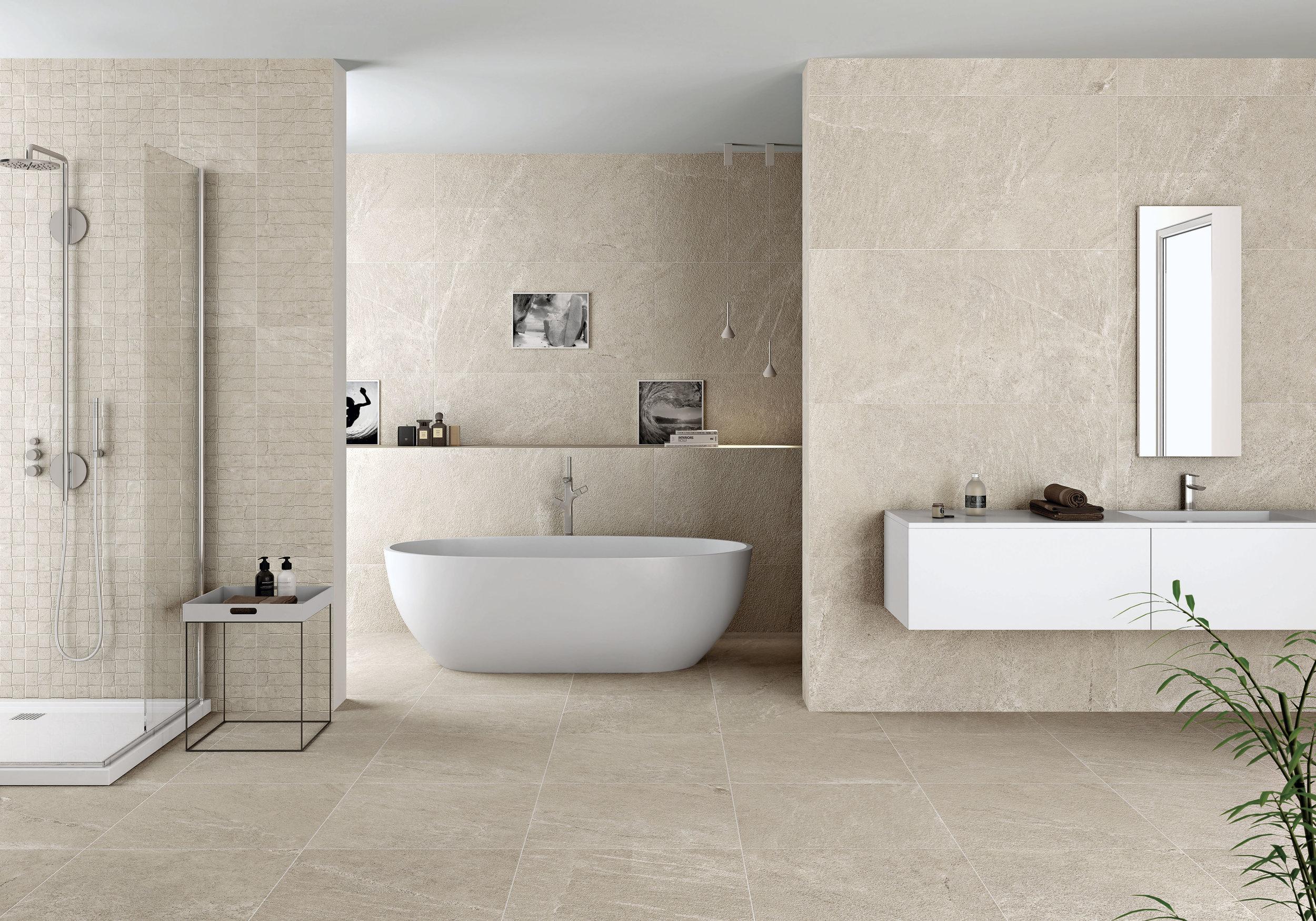 Natural Beige Porcelain Tiles