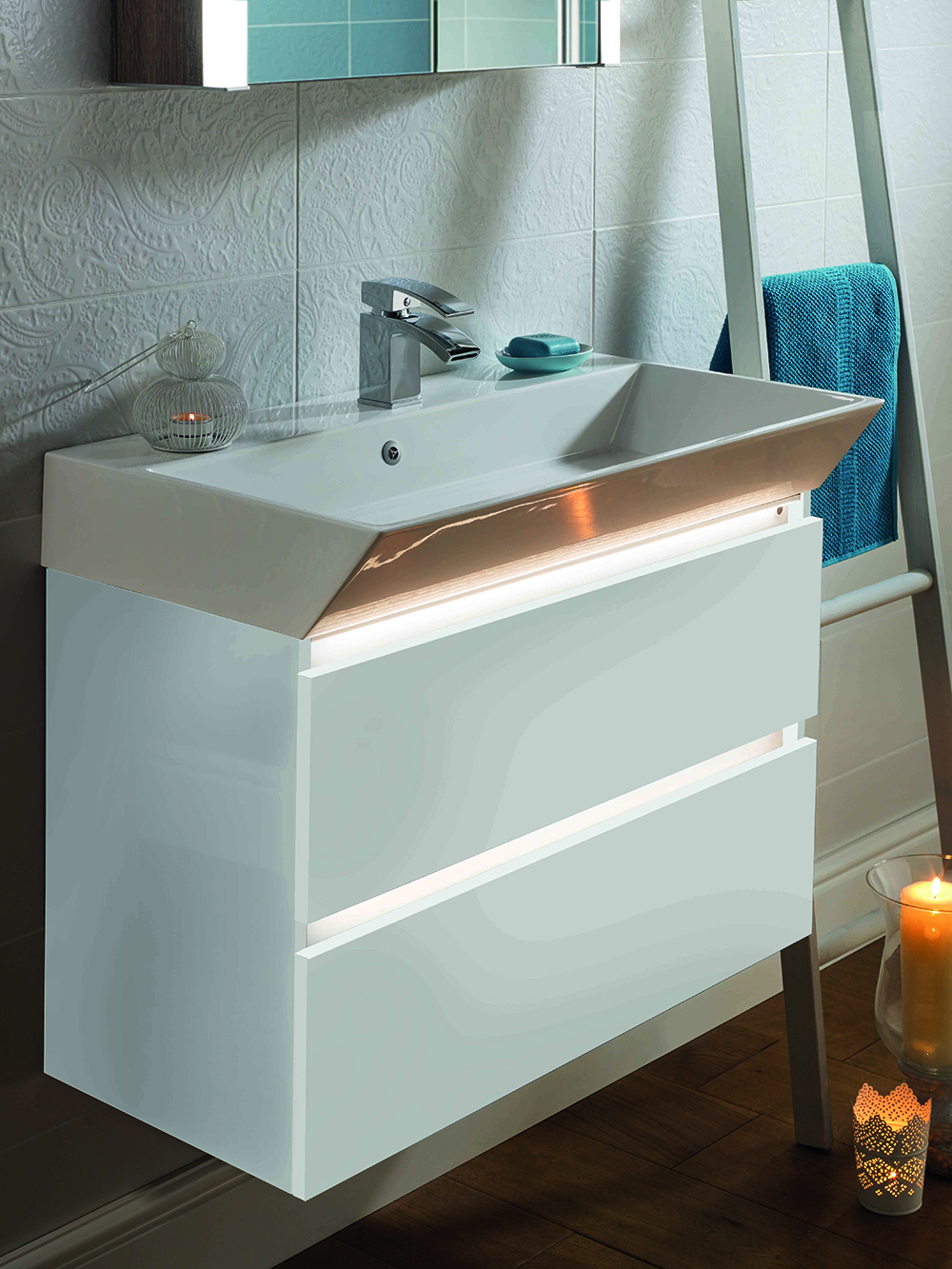 White Bathroom Furniture