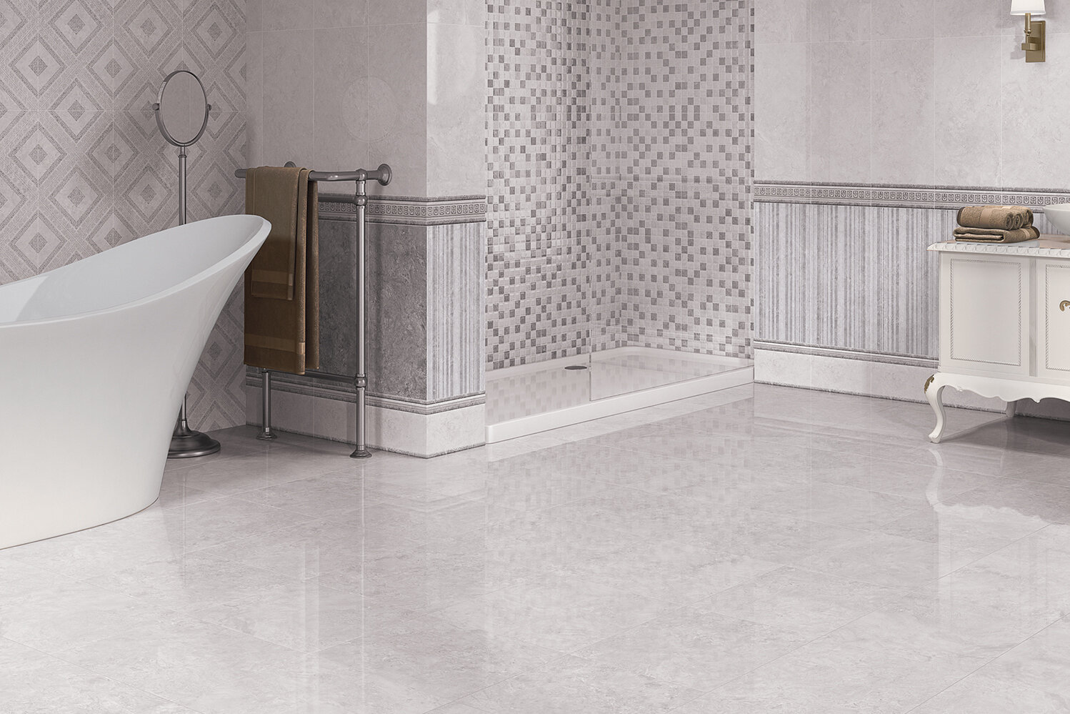 Grey Ceramic Grey Porcelain Tiles Eg Everton Glass In Liverpool