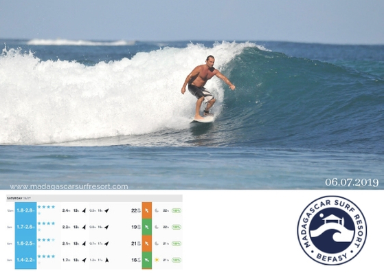 Surf Report 06 July 2019 - Madagascar Surf Resort