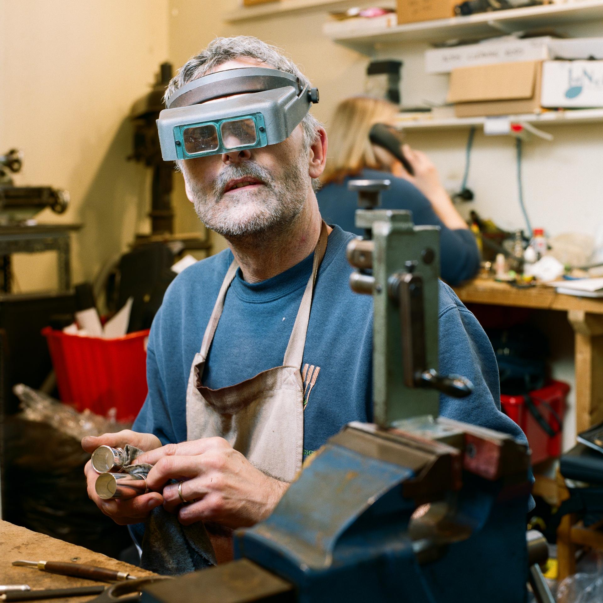 Ian, Flute Maker