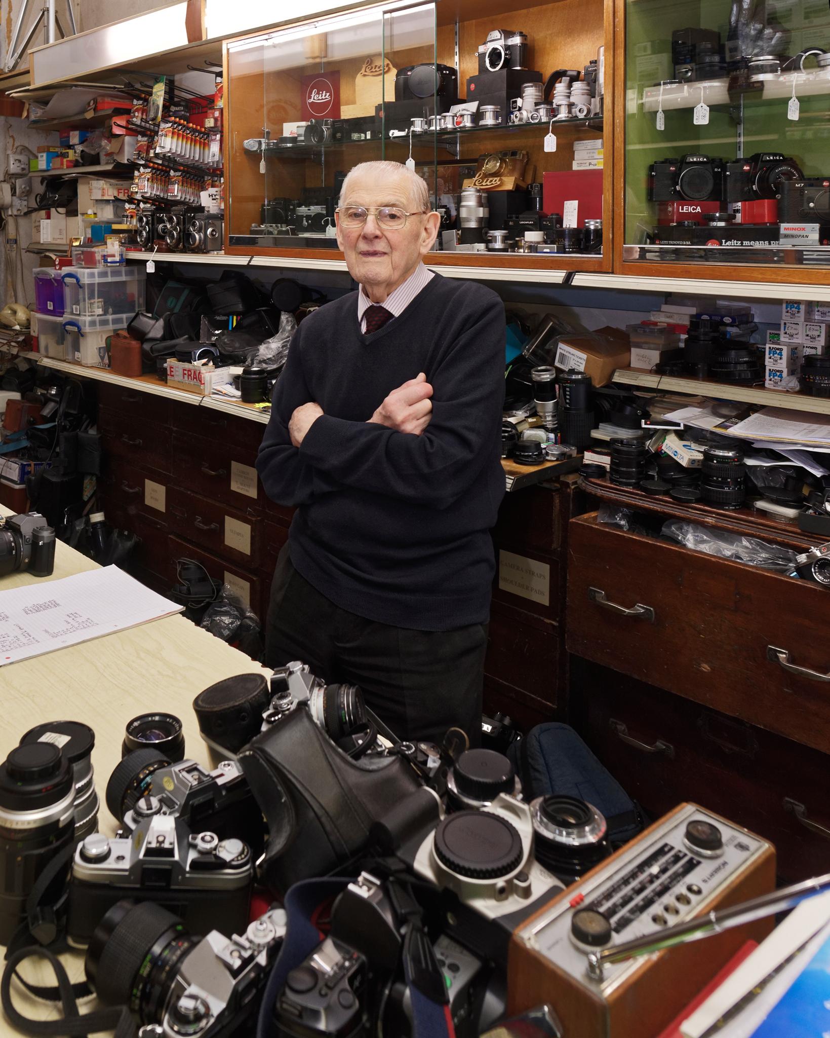 Reg, Croydon's oldest worker?
