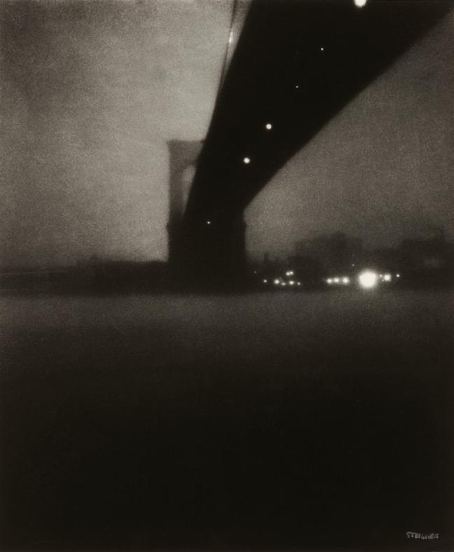 Edward Steichen –   Brooklyn Bridge , 1903