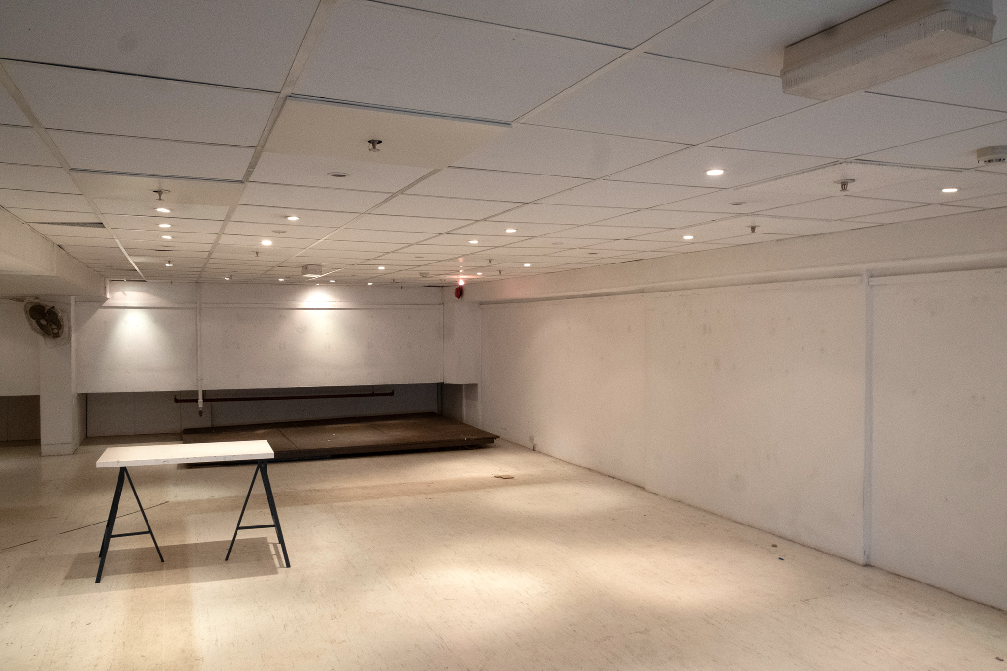 'The Loft', one of the largest exhibition spaces currently available in Croydon