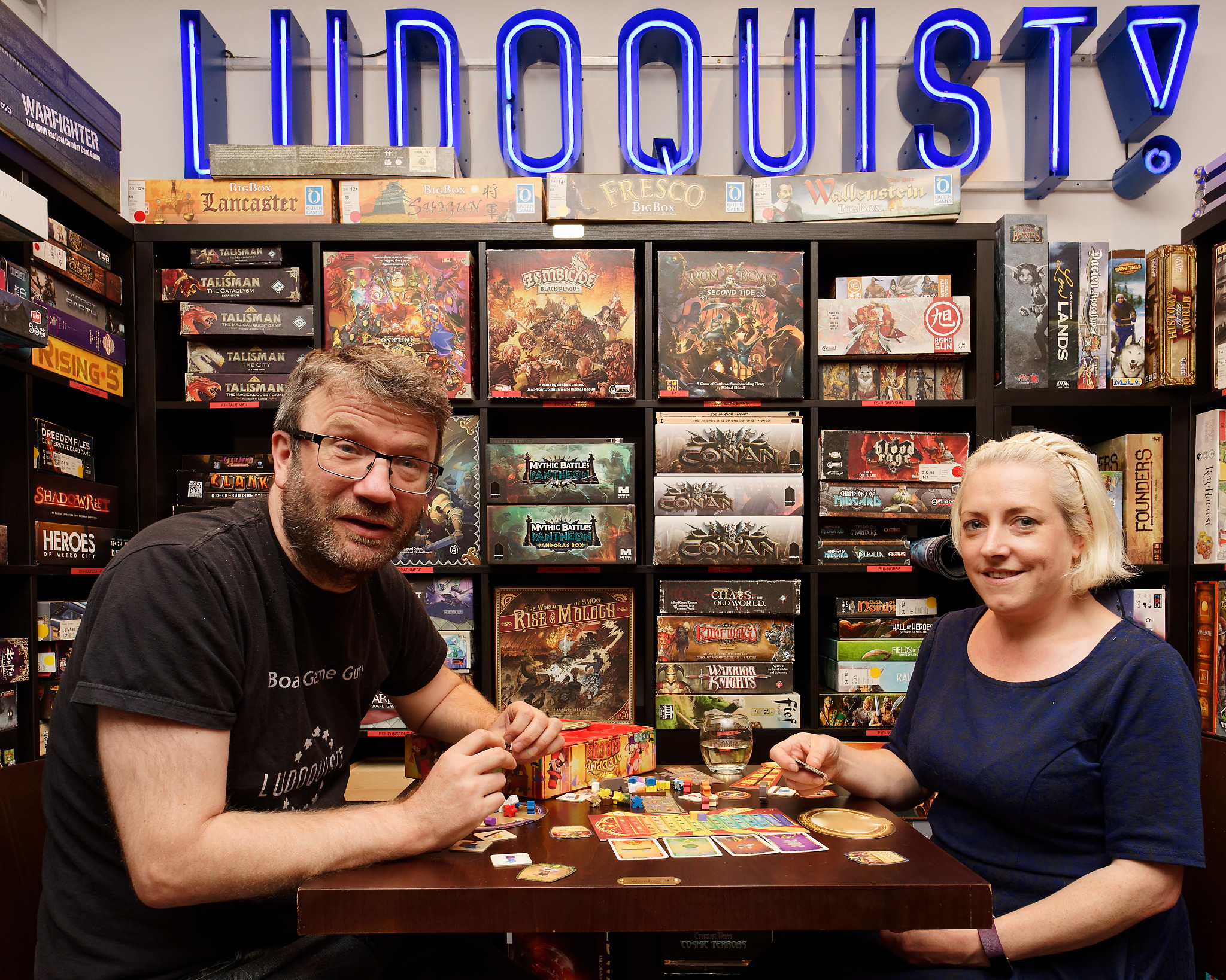 Nick & Carrie - The Ludoquist