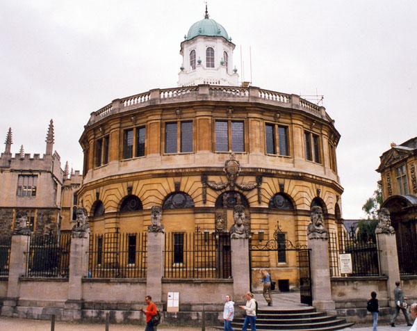 Sheldonian Theatre -