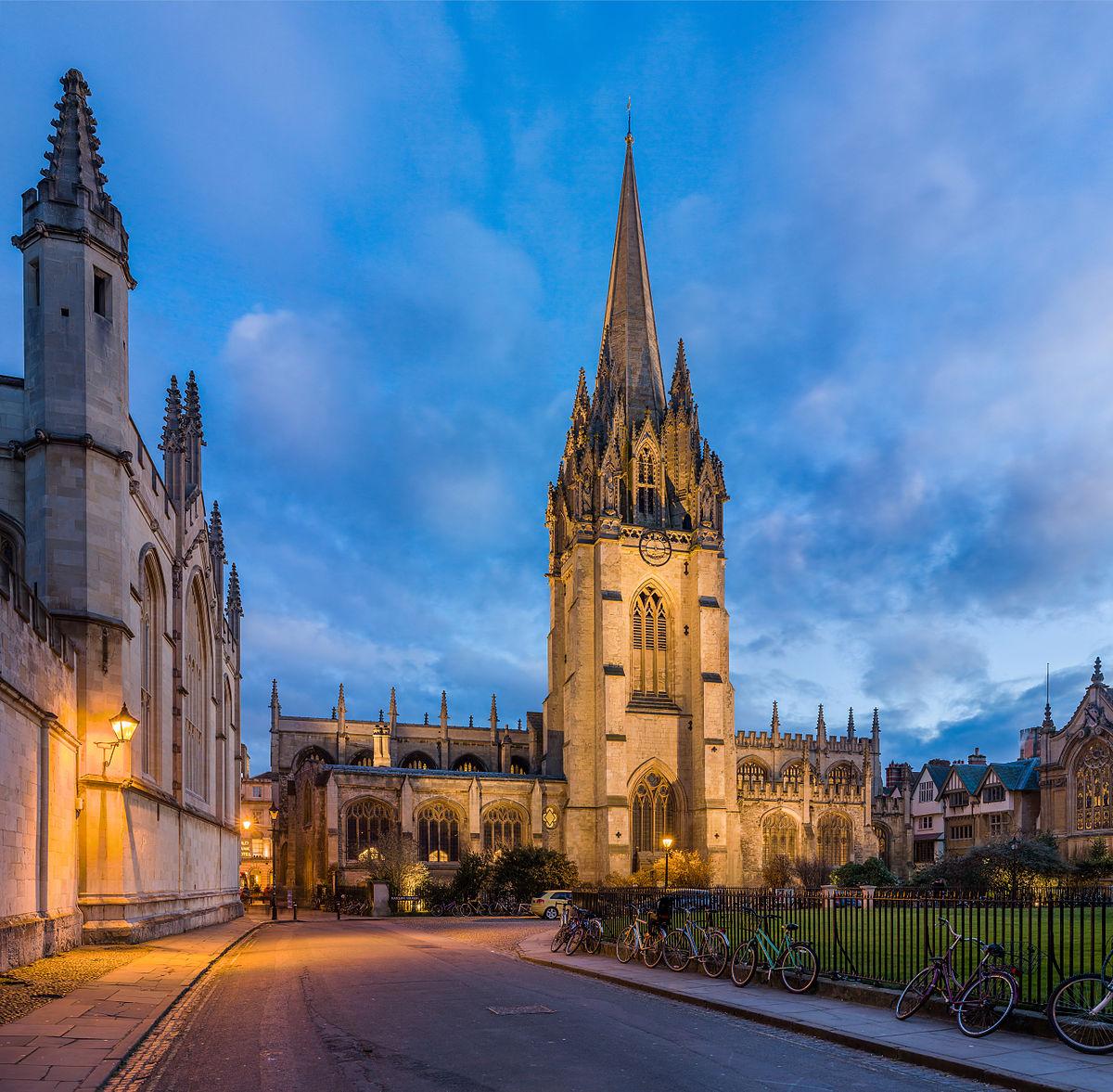 University Church of St Mary the Virgin -