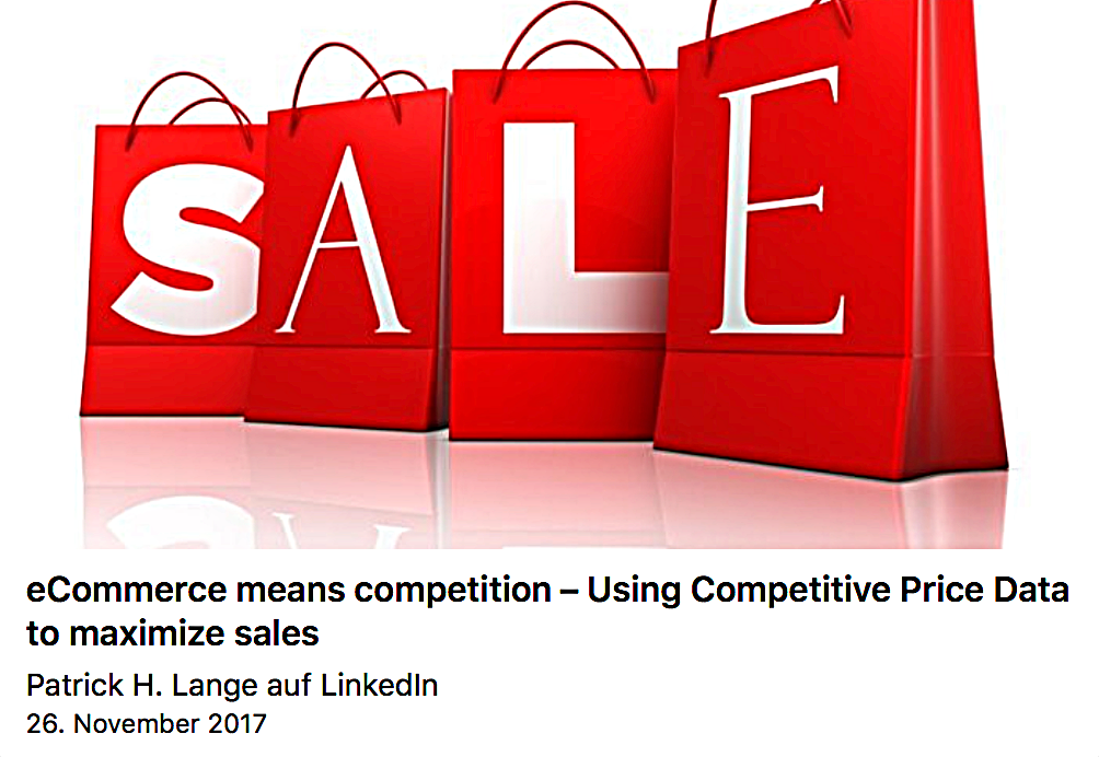 eCommerce means competition