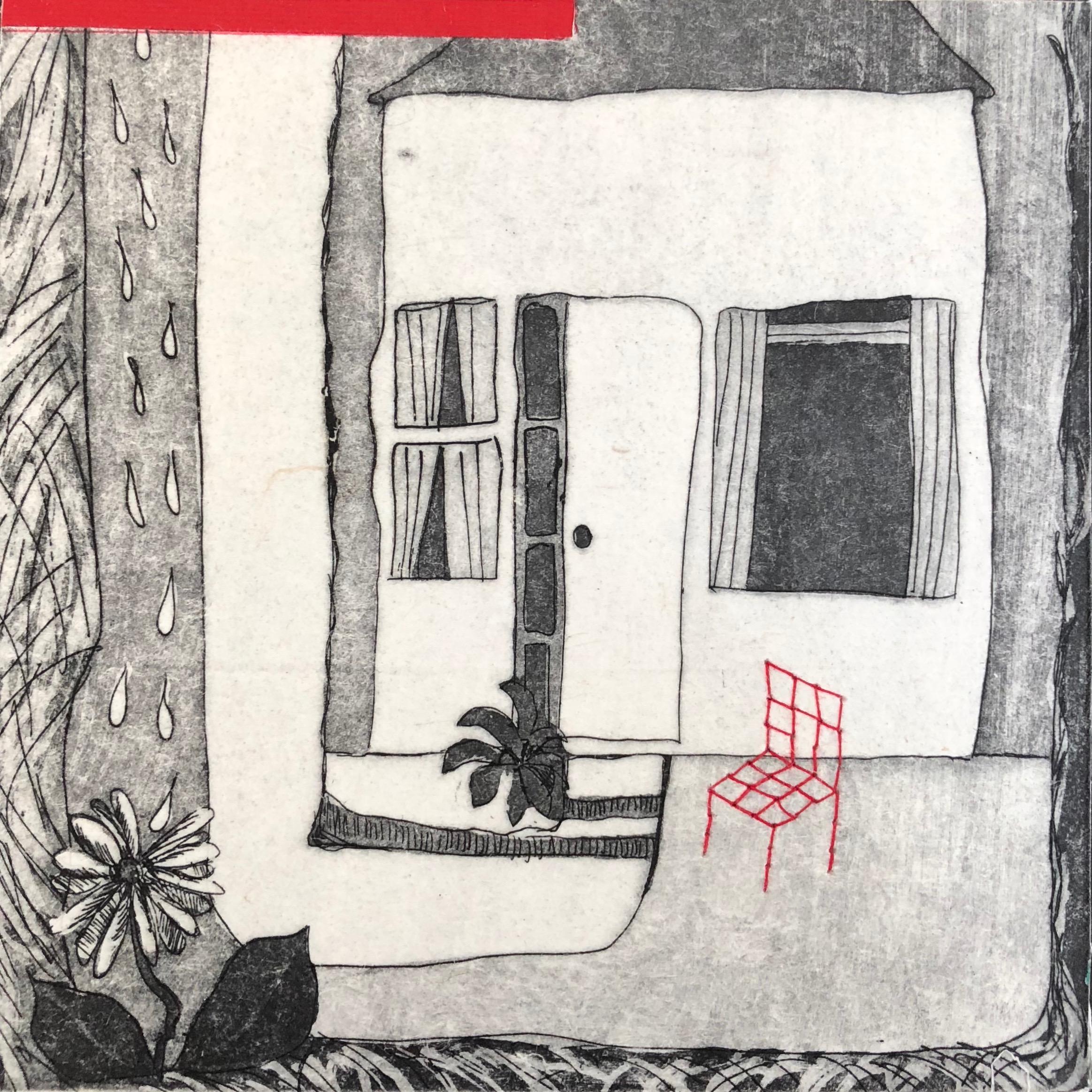 habitat... red chair