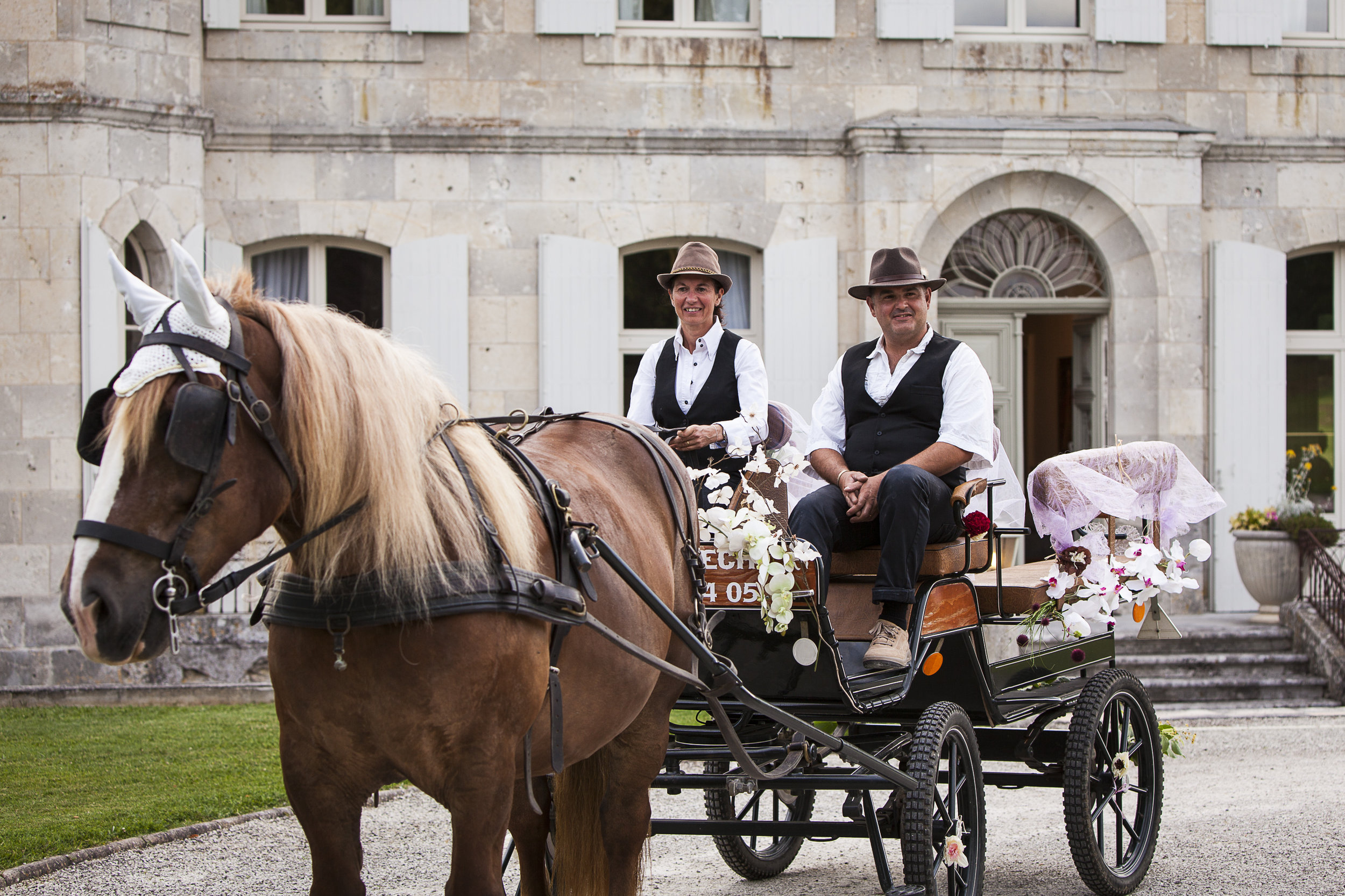 Horse & carriage organised by @theproposers