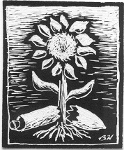Trident-Sunflower B&W.png