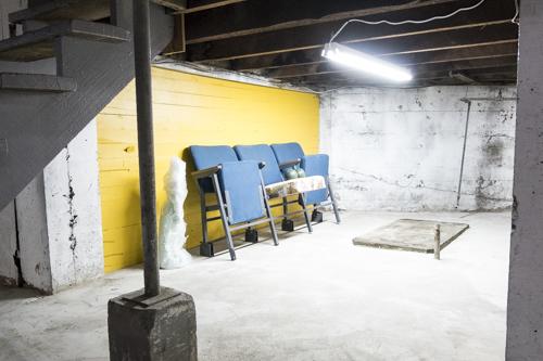 Louis Buovier, Installation view [photo: Morgane Clémént-Gagnon]