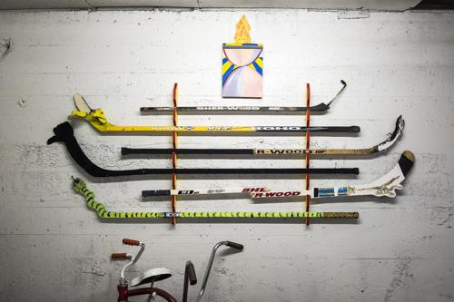 David Bellemare, Installation view [photo: Morgane Clémént-Gagnon]