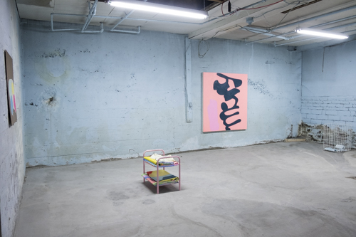 Jeanie Riddle, Installation view [photo: Morgane Clémént-Gagnon]